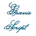 Gravis Embroidery Font Digitized Lower and Upper Case 1 2 3 inch Instant Download